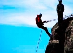 Rock-climbing & Abseiling for Teens with Adventure West