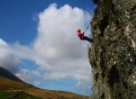 Rock-climbing & Abseiling for 2 Teens with Adventure West